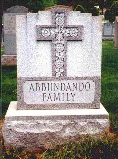 Abbundando headstone -
