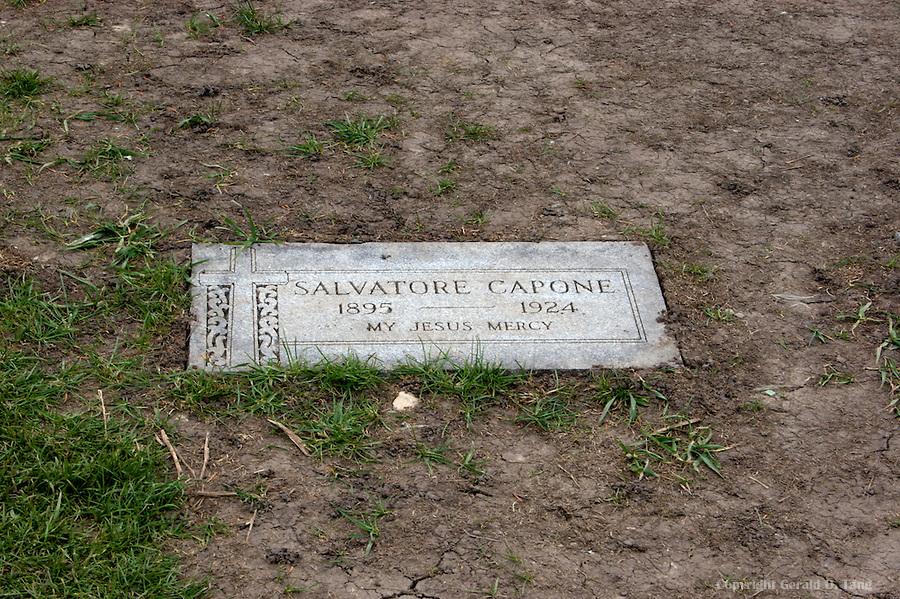 Salvatore Capone Headstone  706323 - Salvatore Capone Headstone in Hillside Illinois   706323