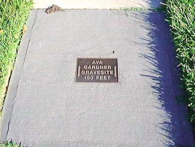 Ava Gardner Found A Gravefound A Grave