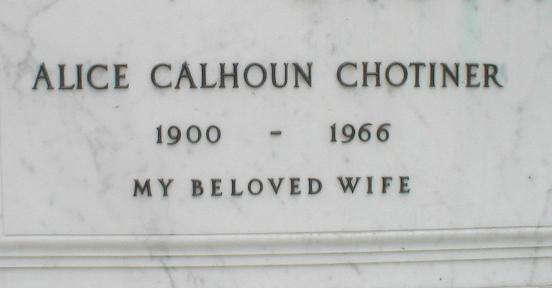 Alice Calhoun 3 -