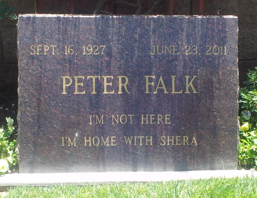 Peter Falk Grab