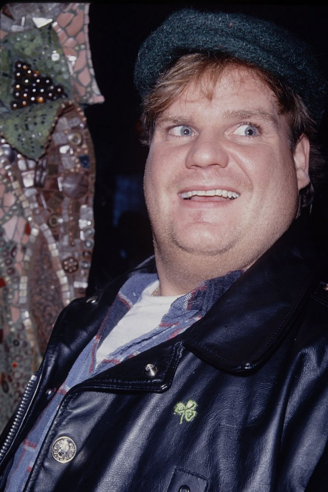 Chris Farley - UNITED STATES - MARCH 18:  Chris Farley  (Photo by Time & Life Pictures/Getty Images)