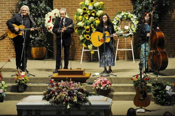 Kitty-Wells - Funeral services for the Queen of Country Music, Kitty Wells, at the Hendersonville Church of Christ Friday, July 20, 2012 in Hendersonville, TN.