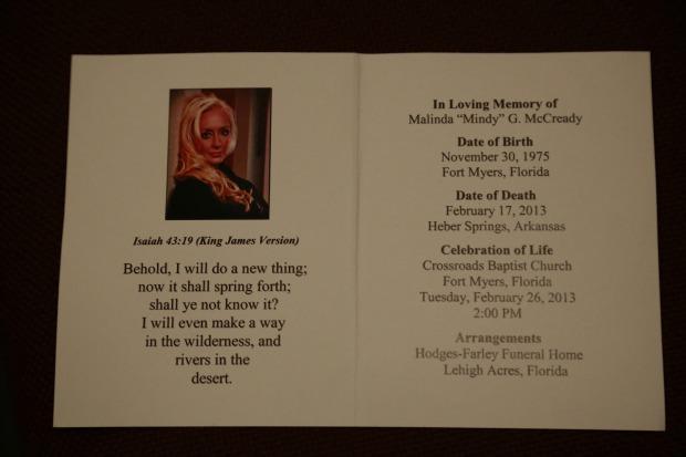 Mindy-McCready-funeral-pamphlet -