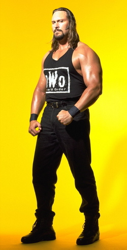 Brian Adams - This photo provided by World Wrestling Entertainment, Inc., shows wrestler Brian