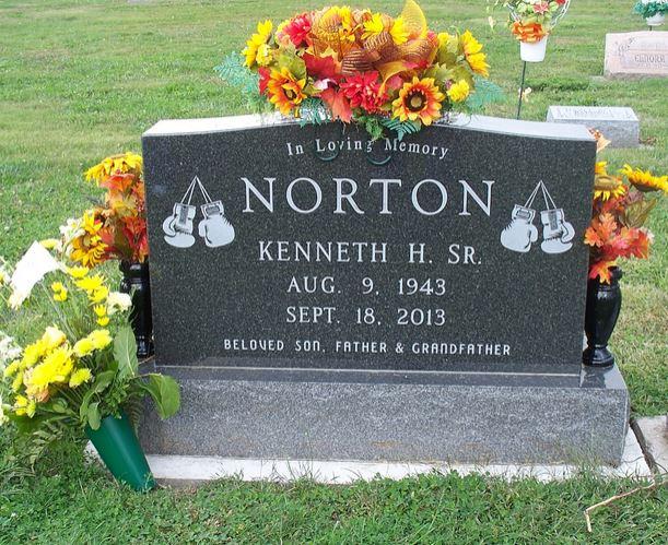 Ken Norton grave -