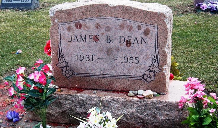 Znalezione obrazy dla zapytania james dean grave