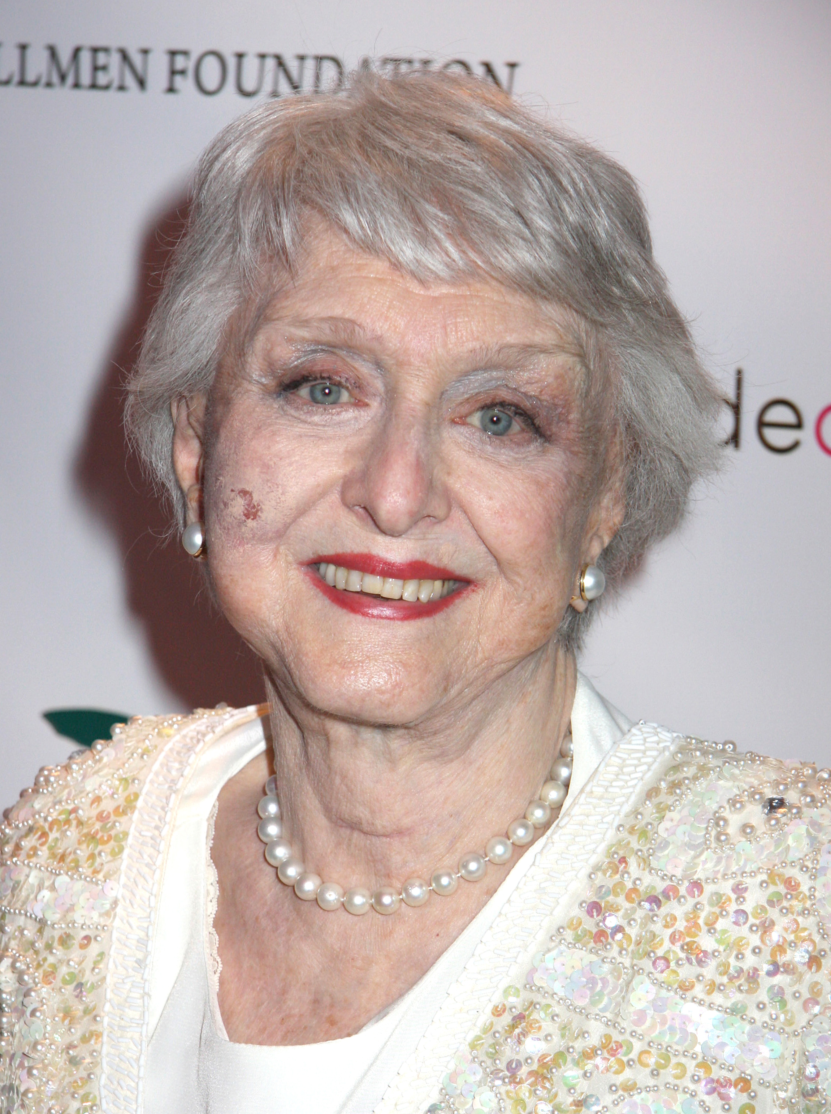 Celeste Holm 1917 - 2012 - May 6, 2006  New York, NY Celeste Holm The Bideawee Ball: For The Love of Pets held at Espace at the Atelier © Steven Bergman /  .COM *** Local Caption ***