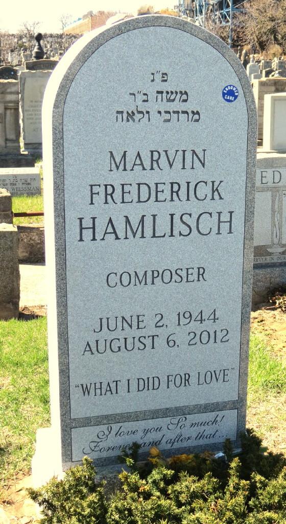 Hamlisch Grave -