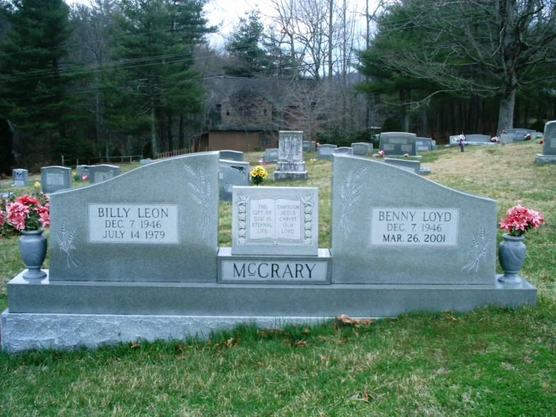 Benny McCrary Grave -