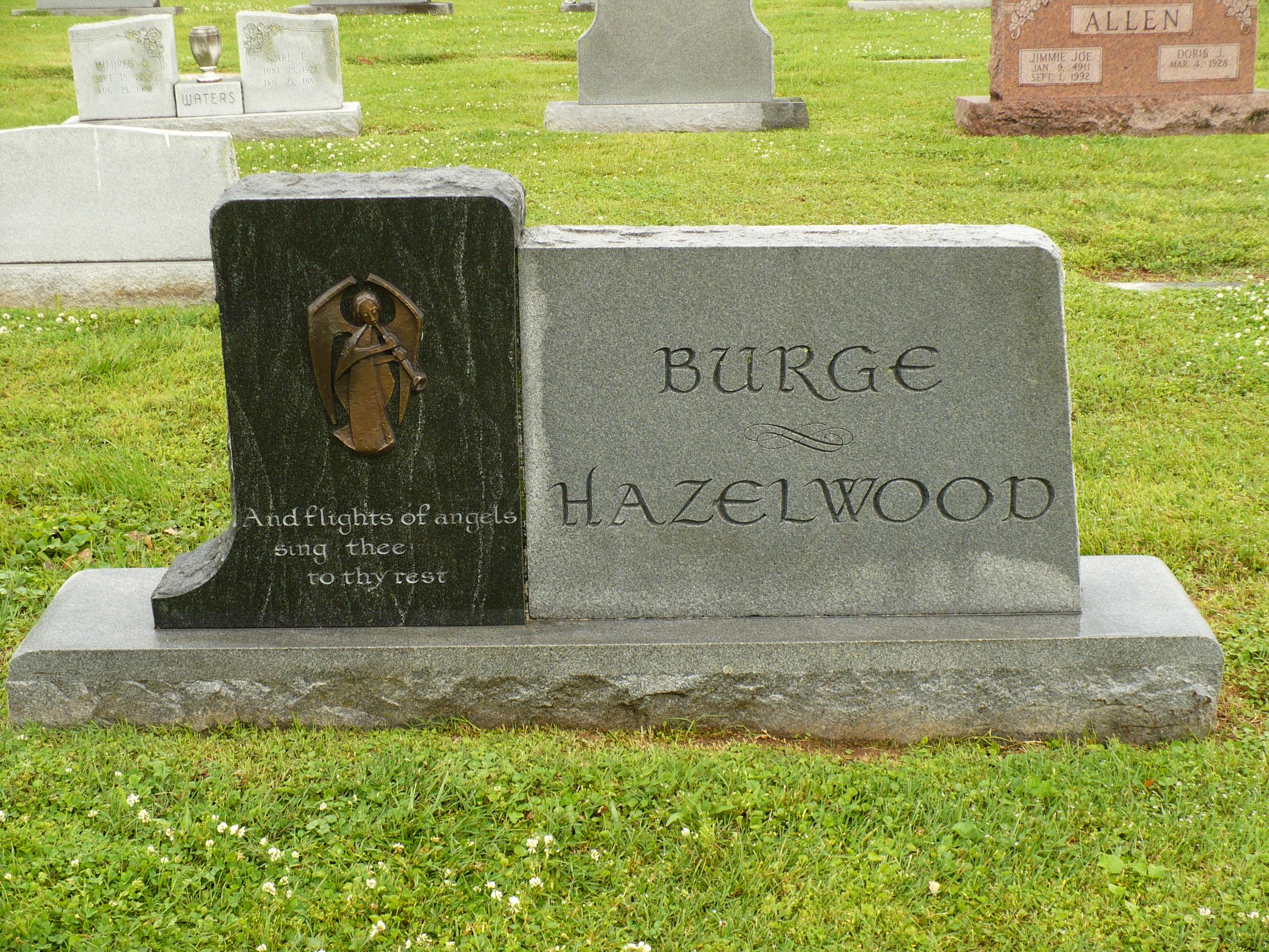 Del Wood grave -