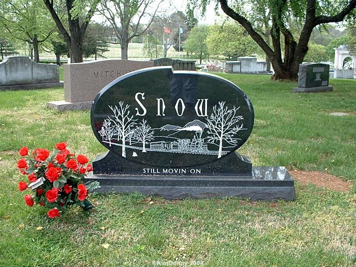 Hank snow grave -