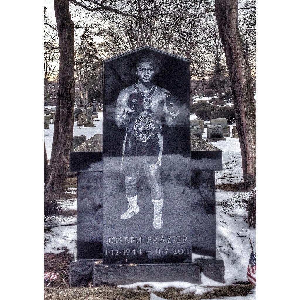J. Frazier grave -