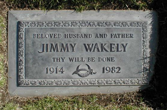 Jimmy Wakely grave -