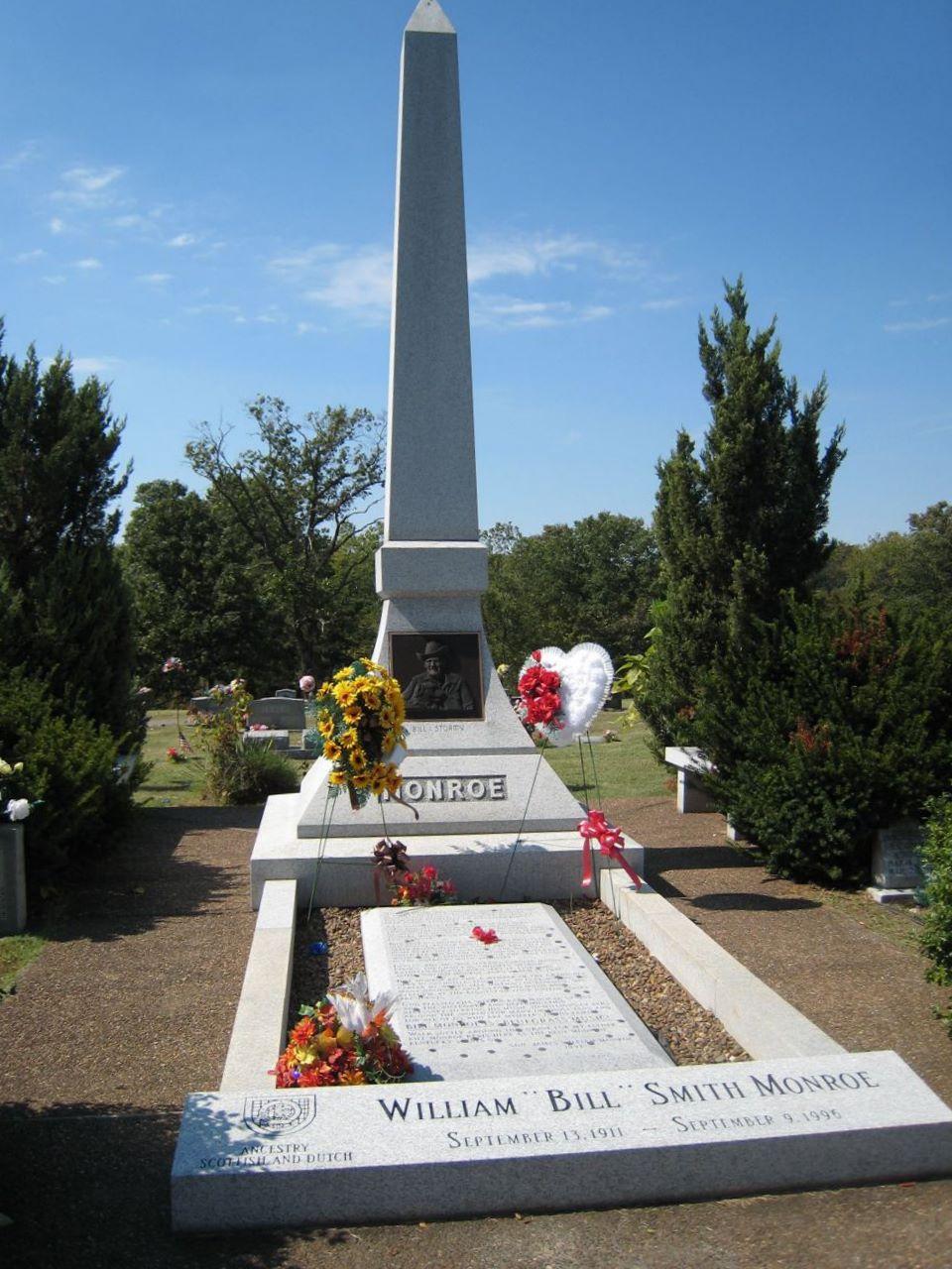 Bill Monroe Found A GraveFound A Grave