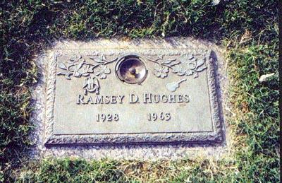 Ramsey Hughes grave -