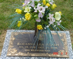 Rosie Carter grave -