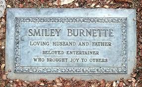 Smiley grave -