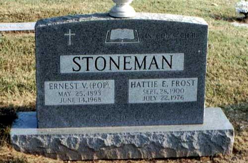 Stoneman grave -