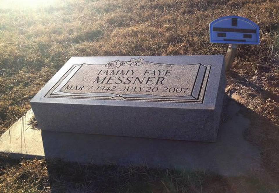Tammy's headstone -