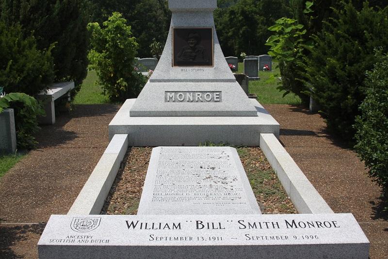 bill-monroe-grave -