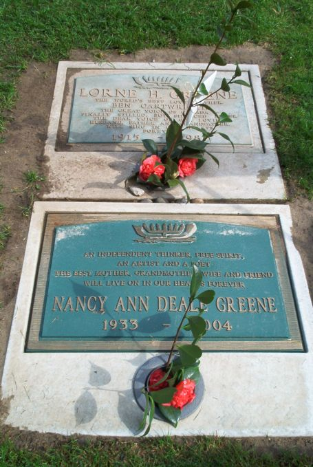 lorne greene found a gravefound a grave