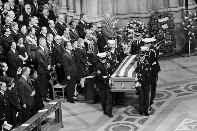 Funeral of Dwight Eisenhower -
