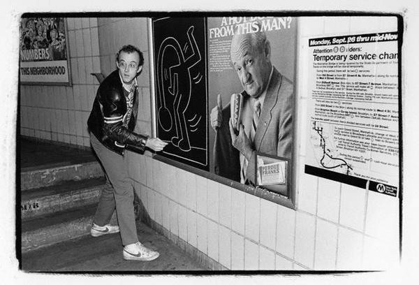 Artist Keith Haring -