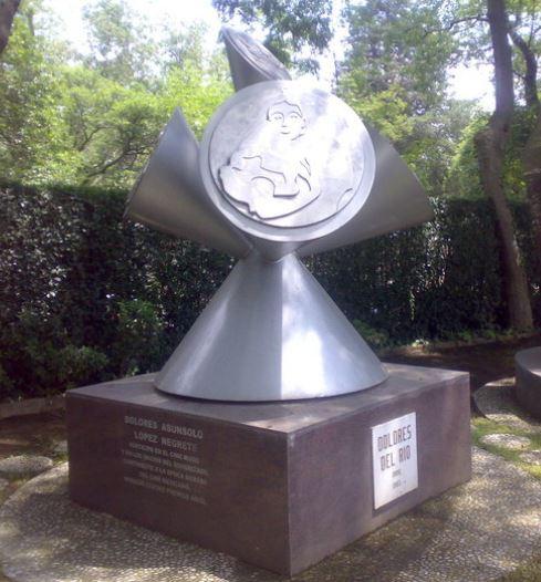 Dolores Del Rio grave -