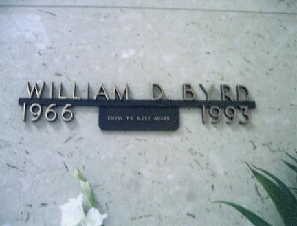 William Dellano Byrd