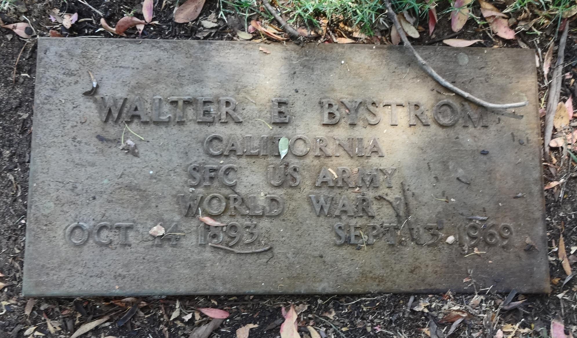 Walter E. Bystrom