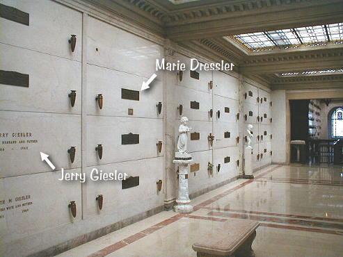 marie-dressler-grave -