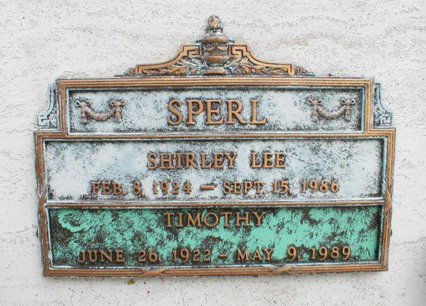 Shirley Lee Sperl
