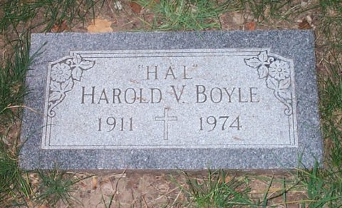 """Harold Vincent """"Hal"""" Boyle"""