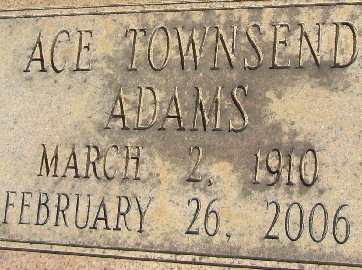 Ace Townsend Adams