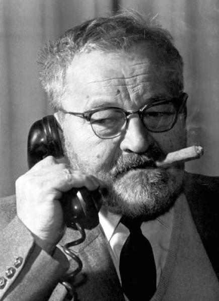 Jan WERICH - doutník telefon -