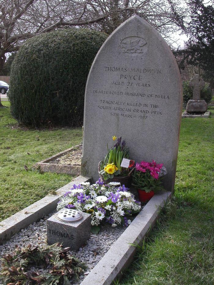 Tom Pryce Found A GraveFound A Grave