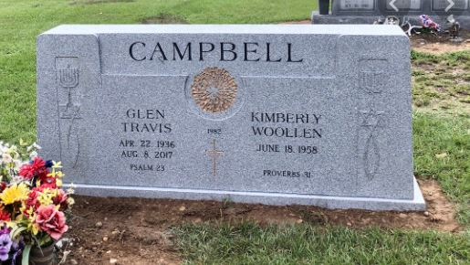 Campbell grave -
